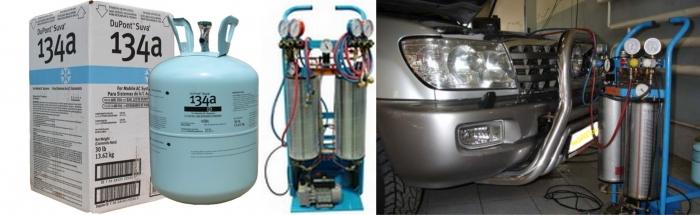 Заправка и ремонт автокондиционеров в Тюмени